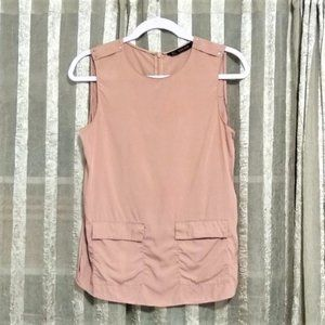 Zara Basic Sleeveless Blouse, S